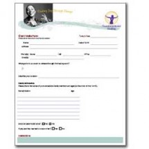 Ready to Get Started – Client Intake Form | Transformational Healing